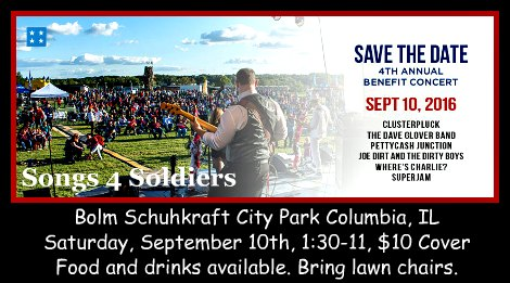 Songs For Soldiers 9-10-16