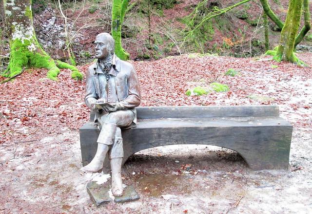The Birks of Aberfeldy, Robert Burns Statue