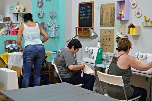 taller costura vestit nena juliol 2