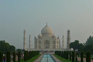 Agra - Taj Mahal front