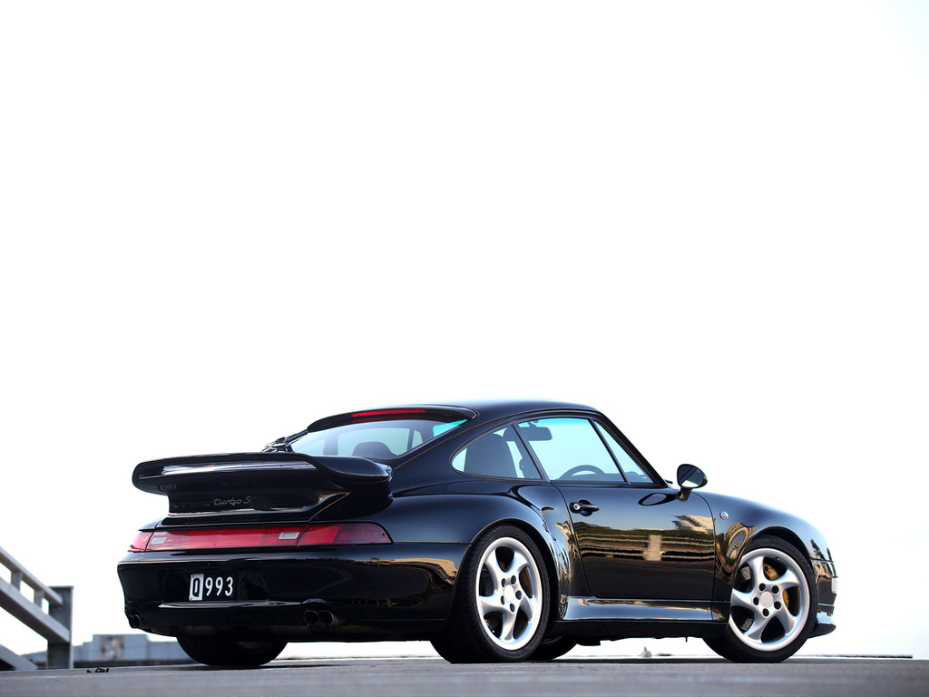 Porsche 911 Turbo S 3.6 Coupe (кузов 993). 1997 – 1998 годы