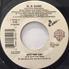 AL B. SURE!:NITE AND DAY(LABEL SIDE-A)