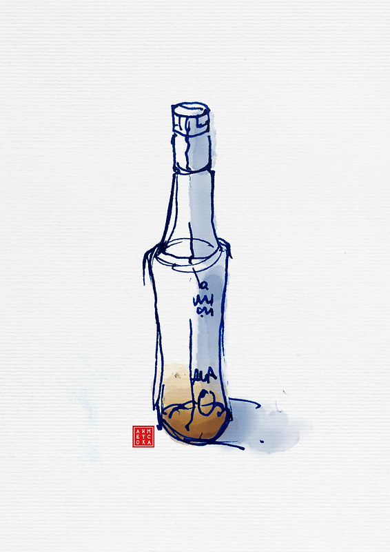 rakı bottle