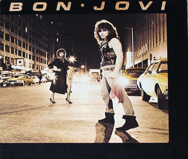 "BON JOVI S/T SELF-TITLED (NL) 12"" LP VINYL"