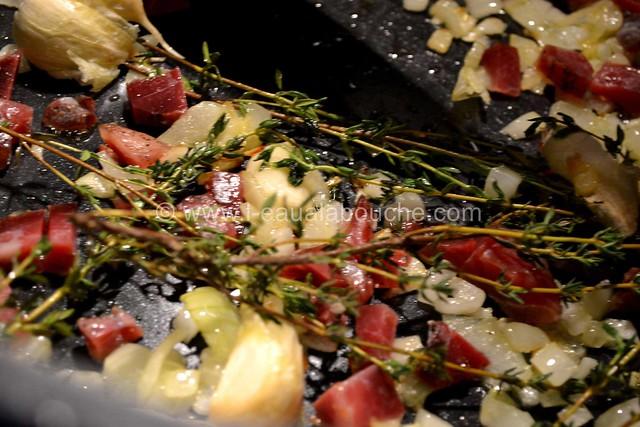 Moules au Jambon & sa Sauce © Ana Luthi Tous droits réservés 03