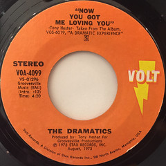 THE DRAMATICS:FELL FOR YOU(LABEL SIDE-B)