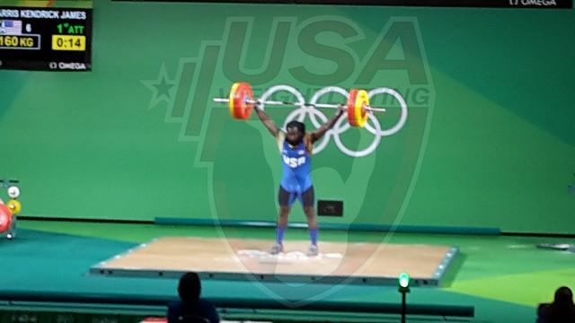 Rio 2016 - Day 8 - Kendrick Farris Competes
