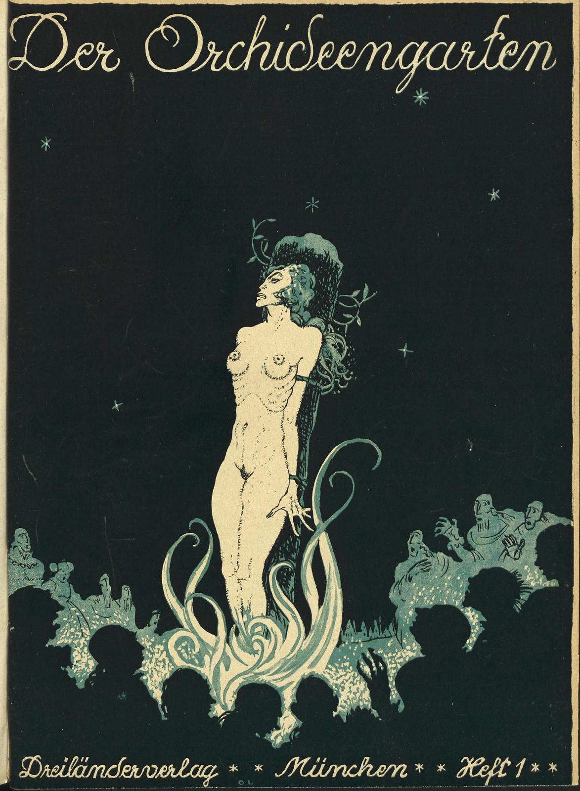 Der Orchideengarten - 1920 (Cover 1)