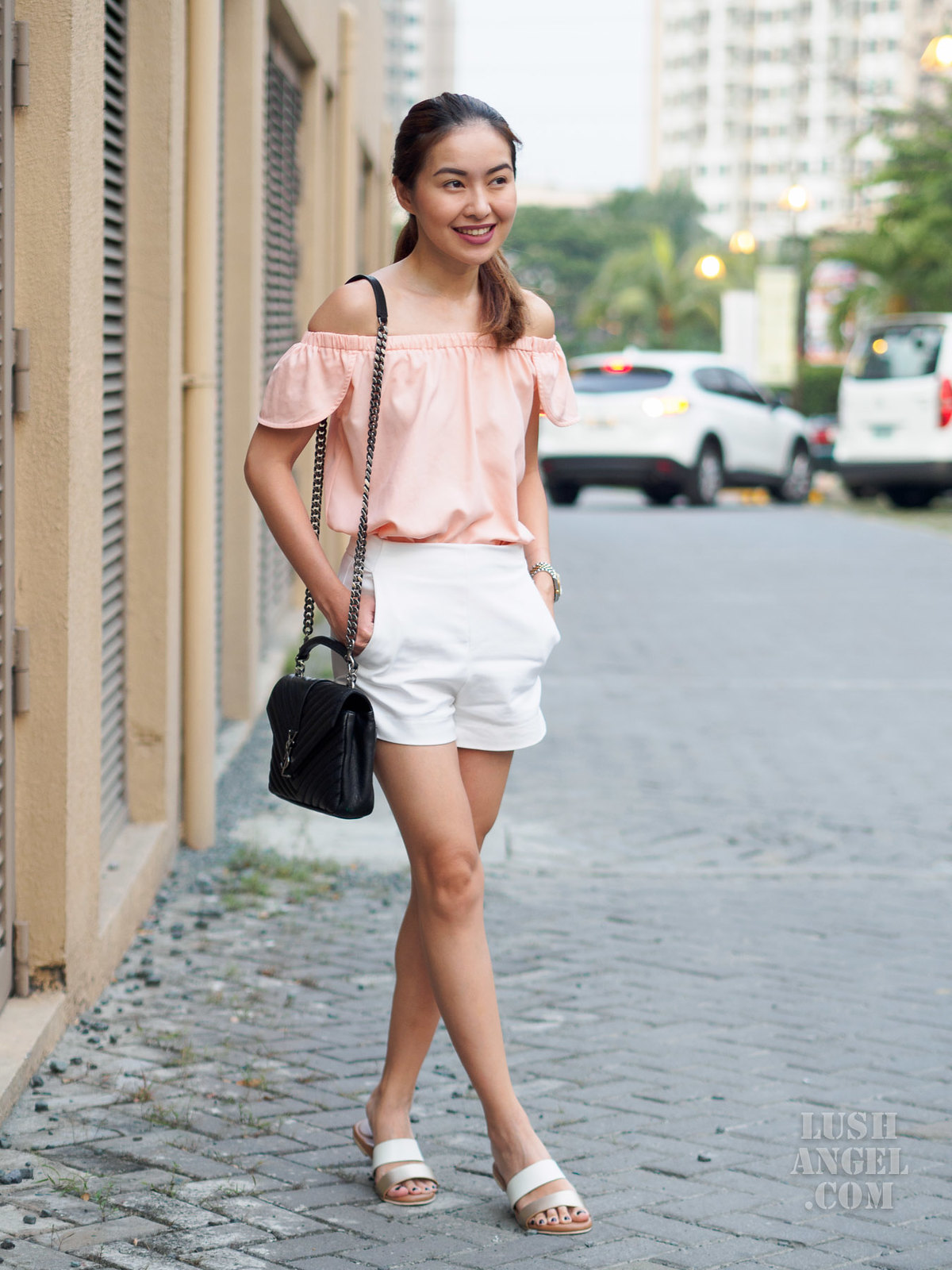 white-shorts