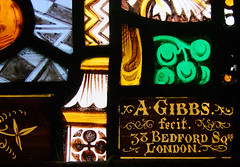 A Gibbs fecit 38 Bedford Square London