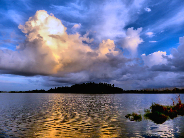 Clouds over Pine Bank HDR 20160815