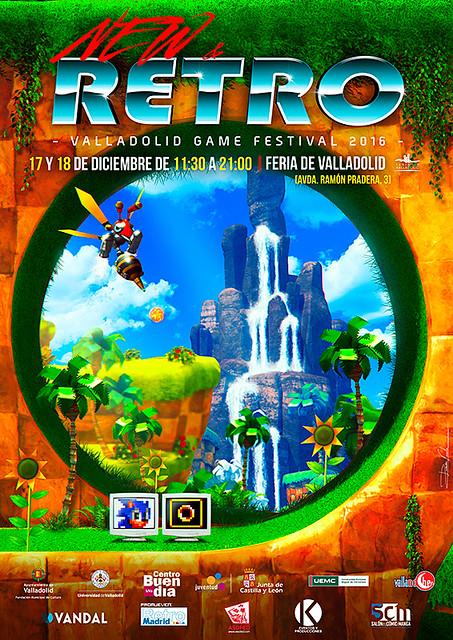 NEW & RETRO Valladolid Game Festival 2016