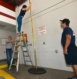 Chicago Fire Pole Practice