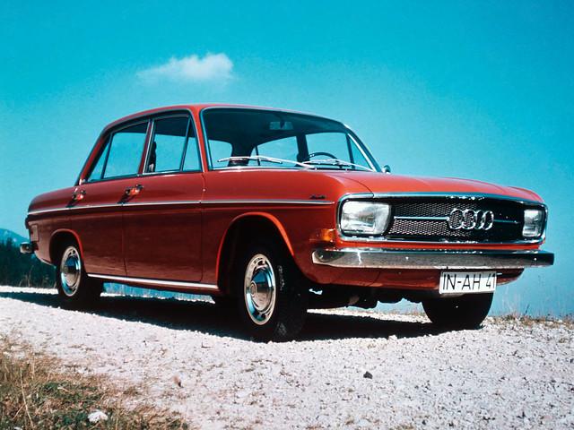 Седан Audi 60. 1969 – 1973 годы производства