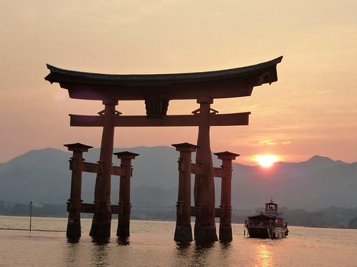 jp16-Myajima-Torii-coucher du soleil  (9)