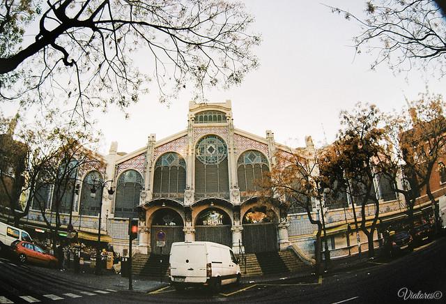 Центральный рынок Валенсии. Mercat Central. Valencia. Spain
