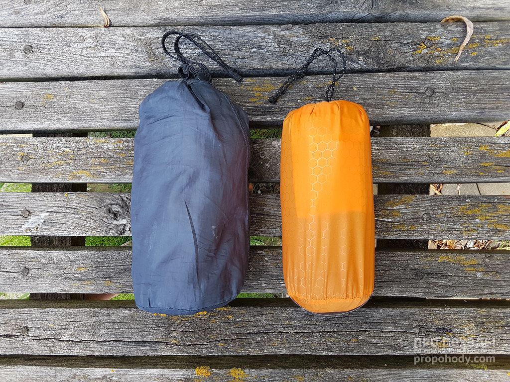 Exped Synmat Hyperlite та Therm-a-rest NeoAir X-Lite