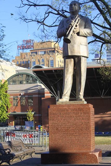 W.C. Handy Statue