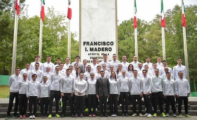 delegacion olimpicia mexicana Rio 2016
