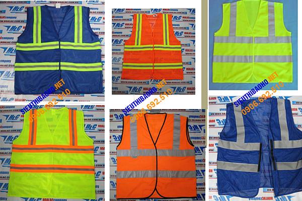 Áo ghile lưới công nhân