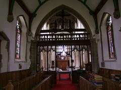 Methwold, Norfolk, St George, interior looking west