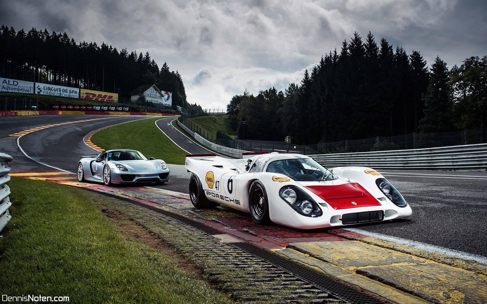 Porsche 917 и Porsche 918 Spyder