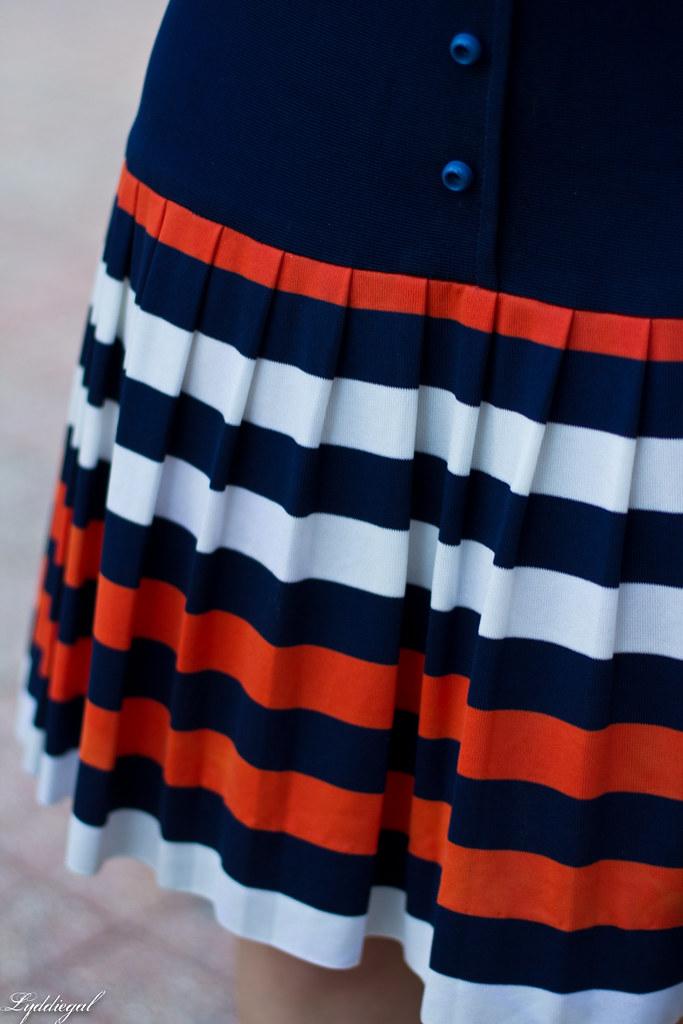 vintage navy striped dress, cherry pumps, white bag-6.jpg