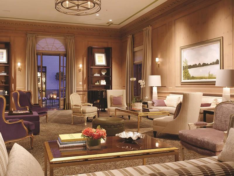 The Fairmont San Francisco Penthouse Suite Living Room