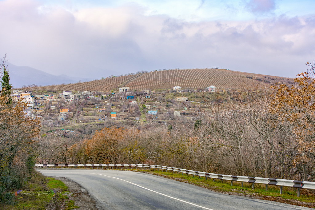 Crimean mountain roads
