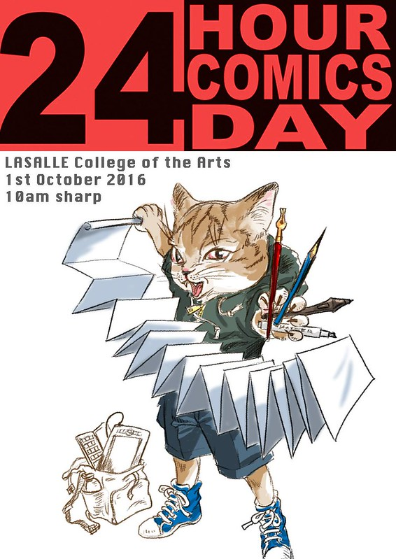 24hours comics day 2016