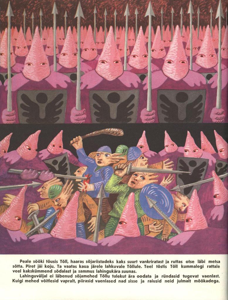 Tõll the Great - Page 09 - Written by Rein Raamat, Illustrated by Jüri Arrak, 1982