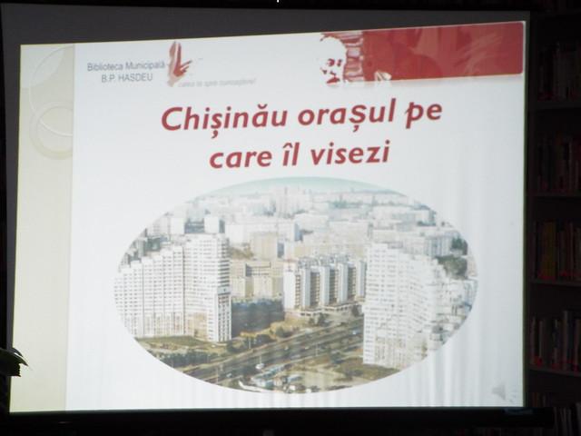 Chișinăul pe care il visezi