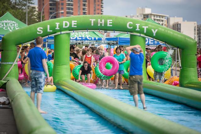 Slide The City - Edmonton