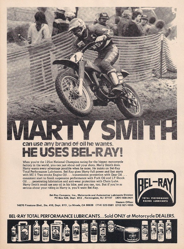 Bel-Ray Marty Smith