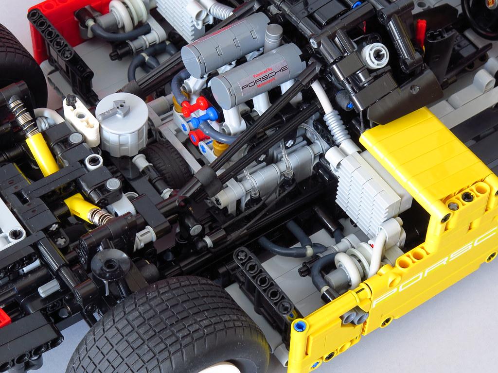 Lego Porsche 962 C 007