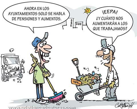 Aumentos y pensiones