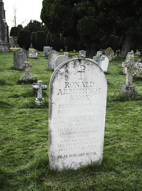 Mgr Knox's Grave