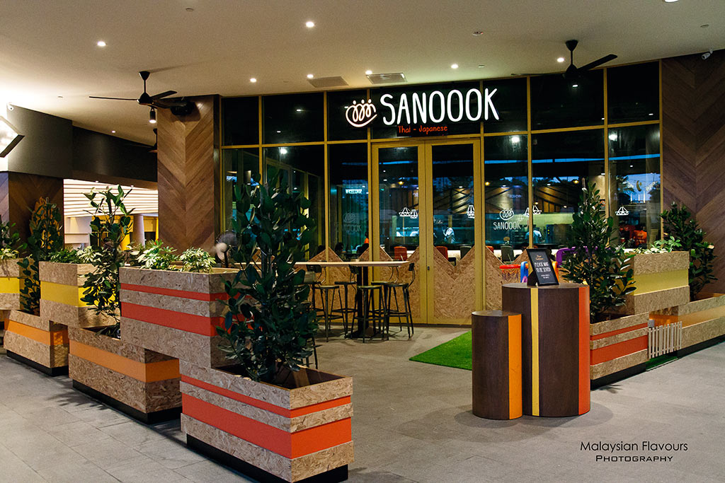 Sanoook Japanese Thai Restaurant Sunway Pyramid West Hotel