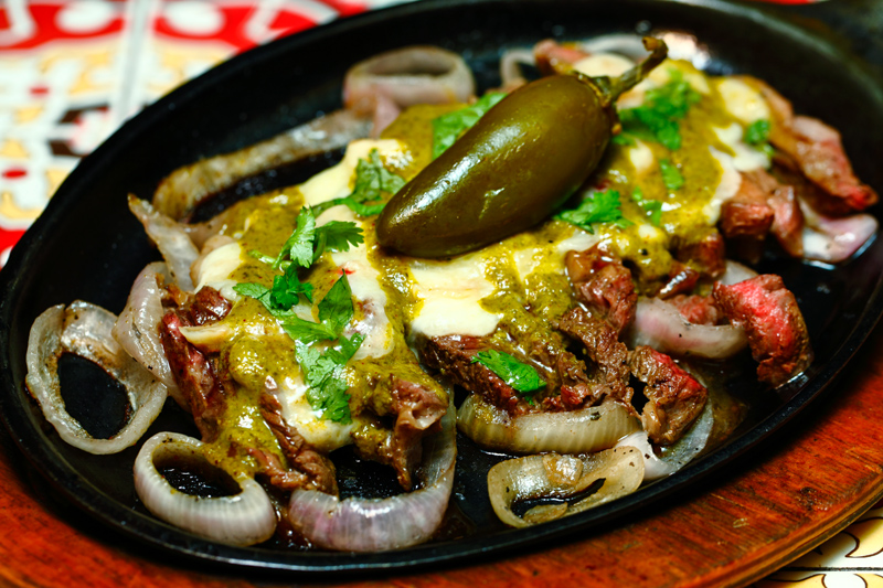 Chili's Rib Eye Fajita
