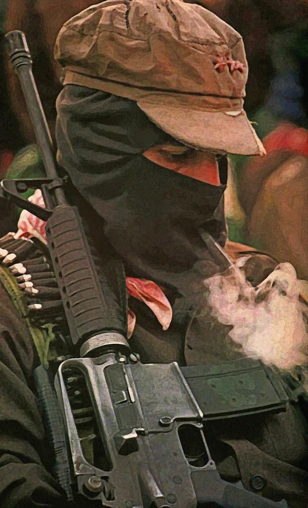Subcomandante Insurgente Marcos | by Quadraro