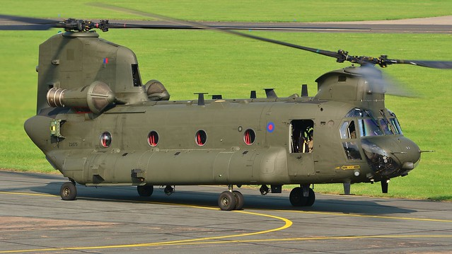 Chinook HC.4 ZA675 07 Sep 16