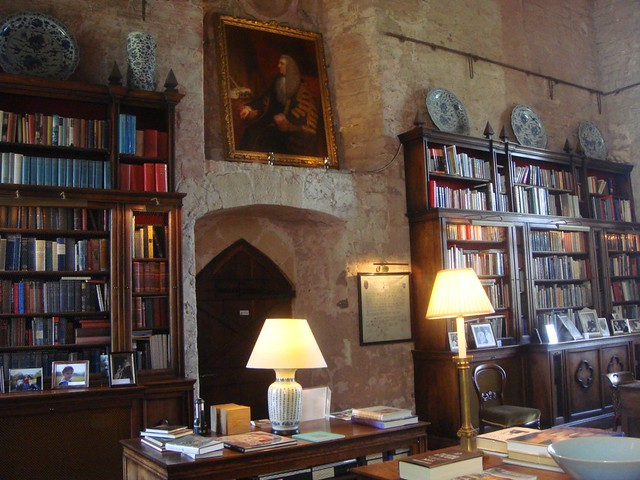 Markenfeld Hall Library 2