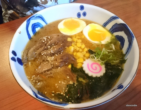 Miso Pork Tongue Ramen