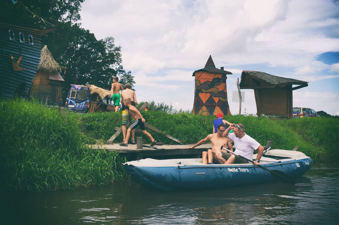 Bootstour Deschka - Lodenau