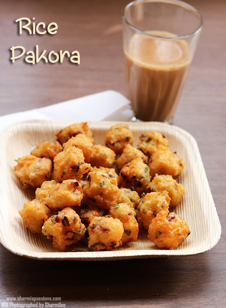 Rice Pakoda Recipe