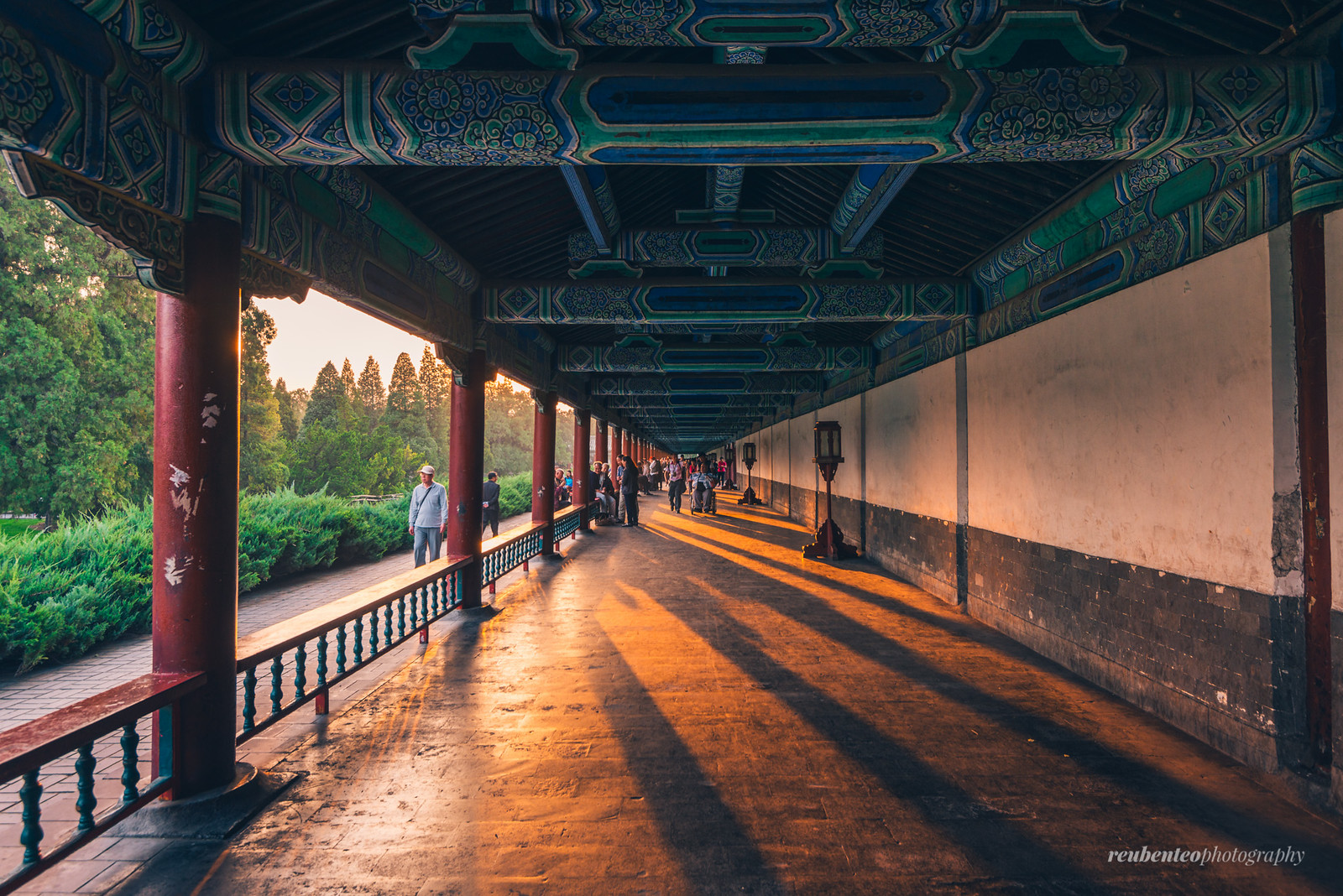 Temple of Heaven Sunset