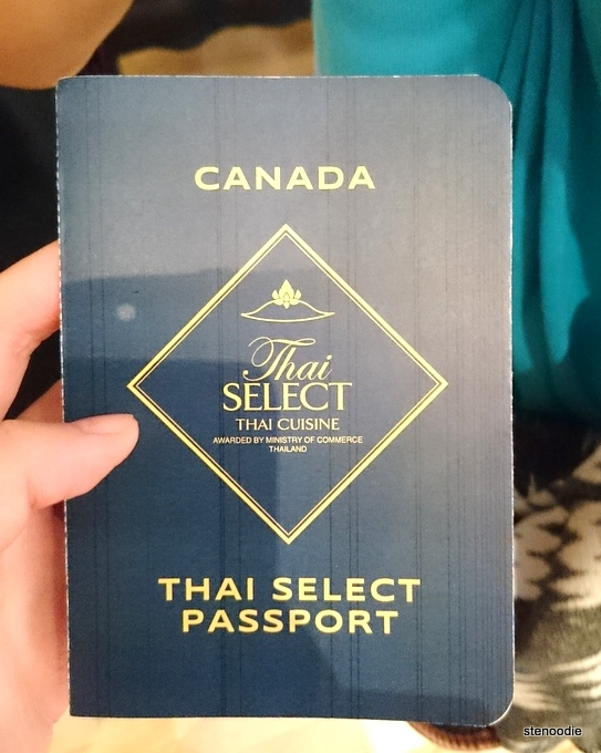 Destination Thailand 2016 passport