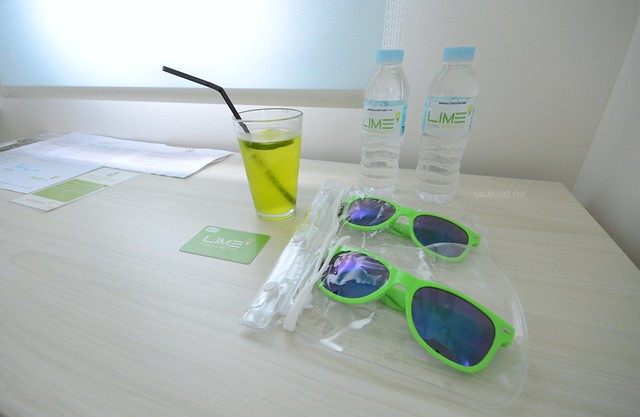 lime hotel boracay in-room amenities