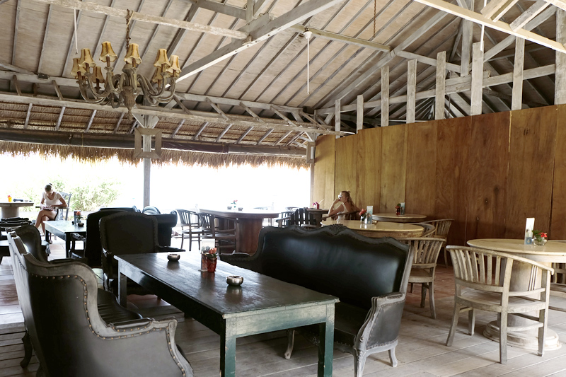 restaurants in gili island