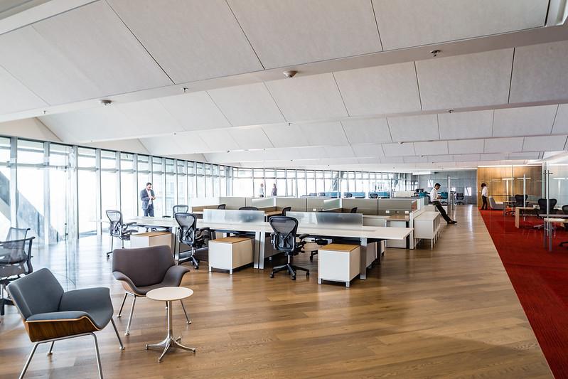 Офисы в небоскребе Torre Reforma